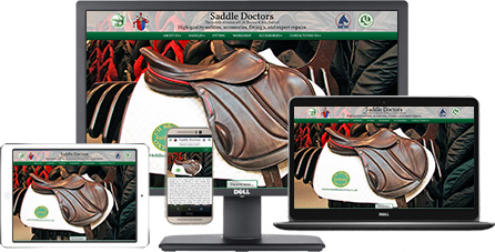 Saddle Doctors responsive website design